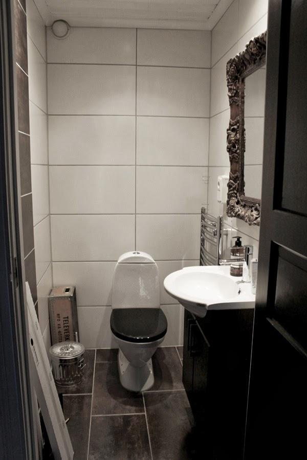 bild på toalett före makeover, inredning toalett