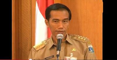 Memang Mbalelo.. Jokowi Semangat Pidato, Anas Effendi Tertidur