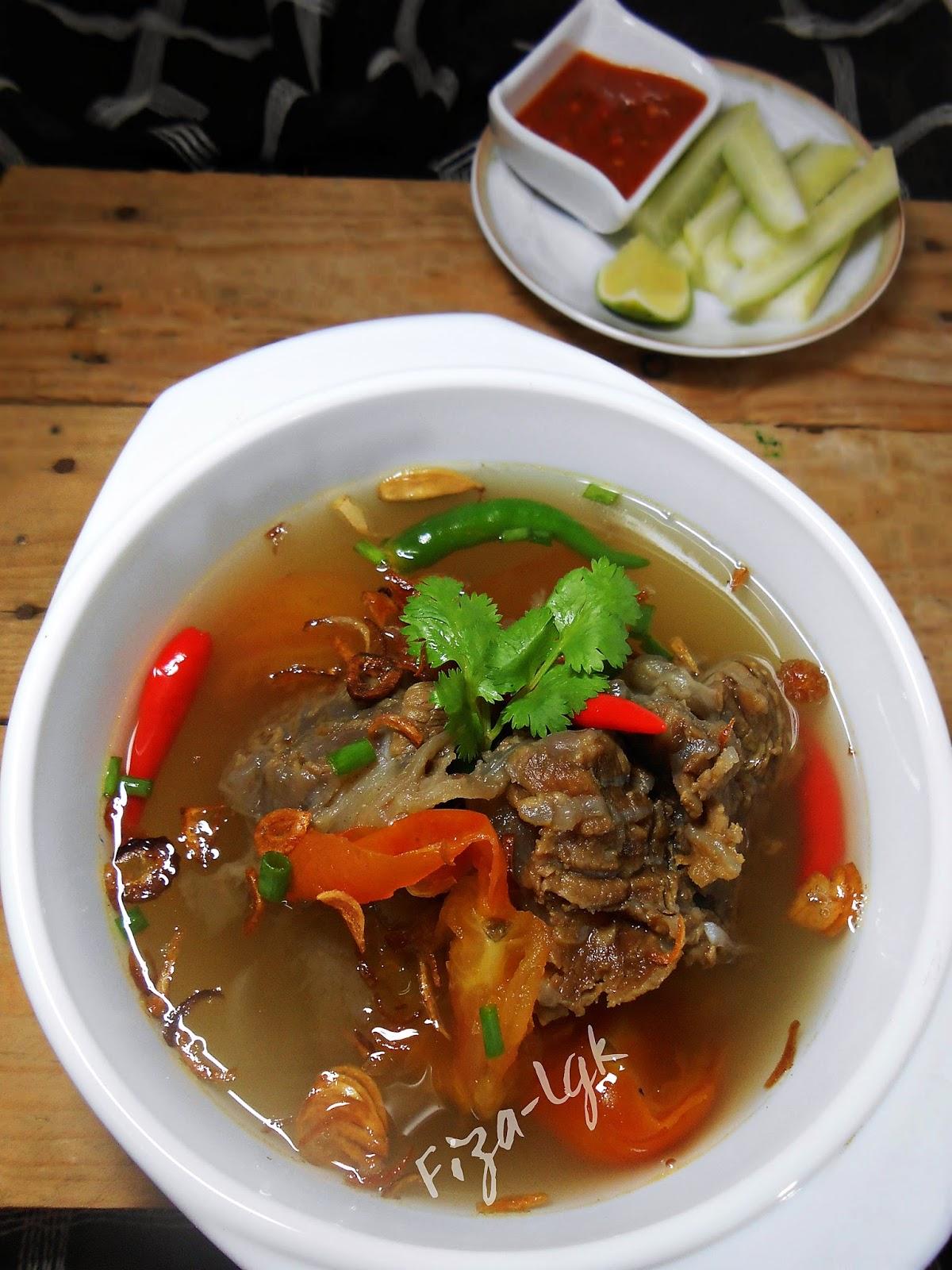 Sup Daging Ala Thai Fiza S Cooking