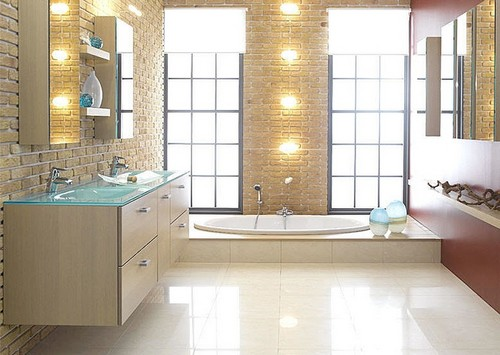 Popular Bathroom remodel floor ideas