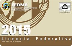 Lincencia Federativa 2015
