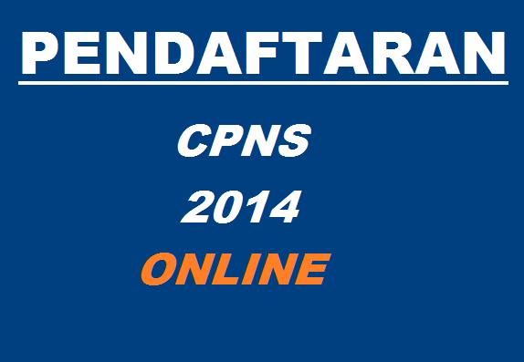 Pendaftaran CPNS Online,CPNS Online 2014-2015