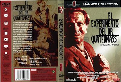 cover, caratula, dvd: El experimento del Dr. Quatermass | 1955 | The Quatermass Experiment (The Quatermass Xperiment)