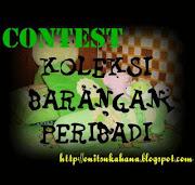 Contest Koleksi Barangan Peribadi