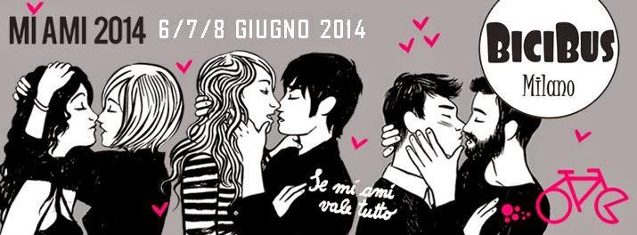 MI AMI 2014 X edizione dal 6 a domenica 8 giugno al Circolo Magnolia Milano