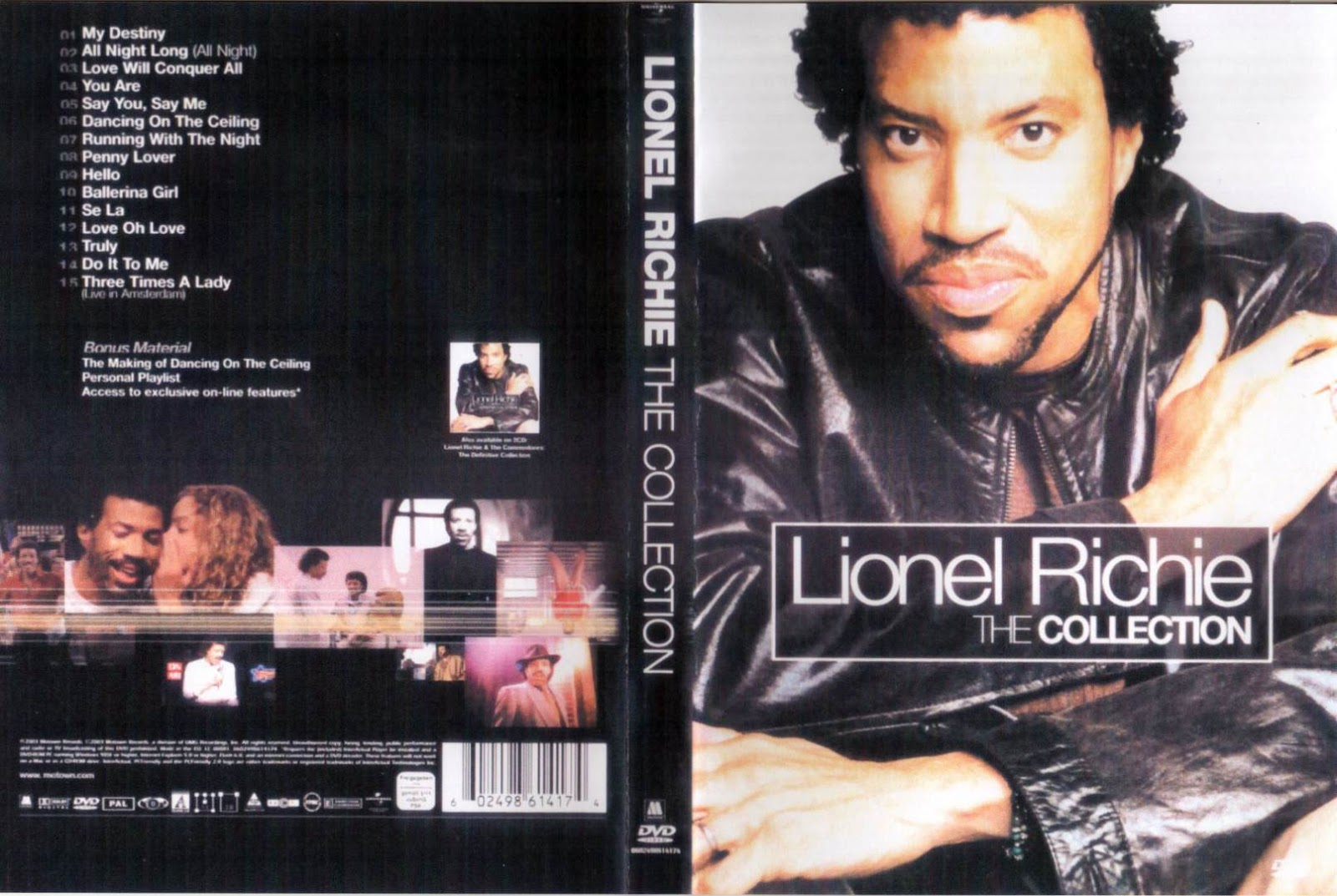 Cat logo dvd m sica lionel richie the collection for 1980 floor show dvd