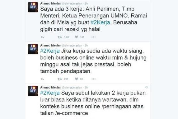 Twitter - Idea #2Kerja Ahmad Maslan