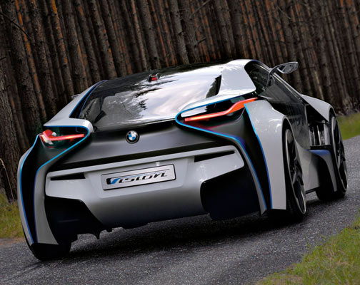 BMW Is Scheduled To Show Off This Beauty At The Frankfurt Motor Show In A  Couple Of Weeks. The Vision Efficient Dynamics Is A Plug In Hybrid Sports  Car,with ...