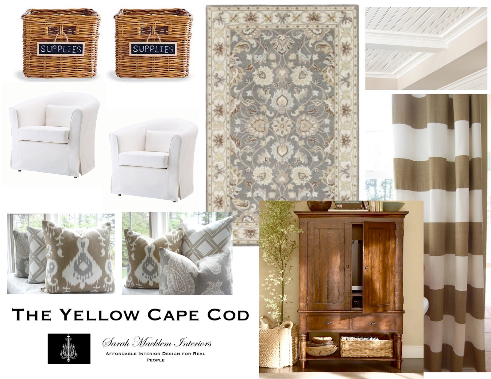 . The Yellow Cape Cod  Custom Designs