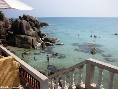Crystal Bay Beach Resort, Lamai, Koh Samui, the bay