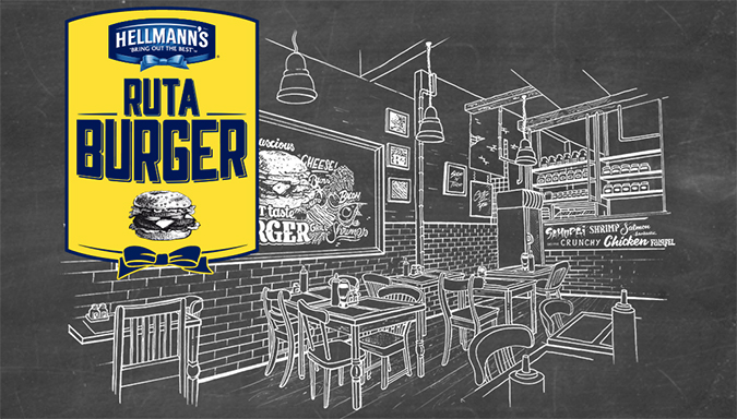 Ruta Burger Hellmann's