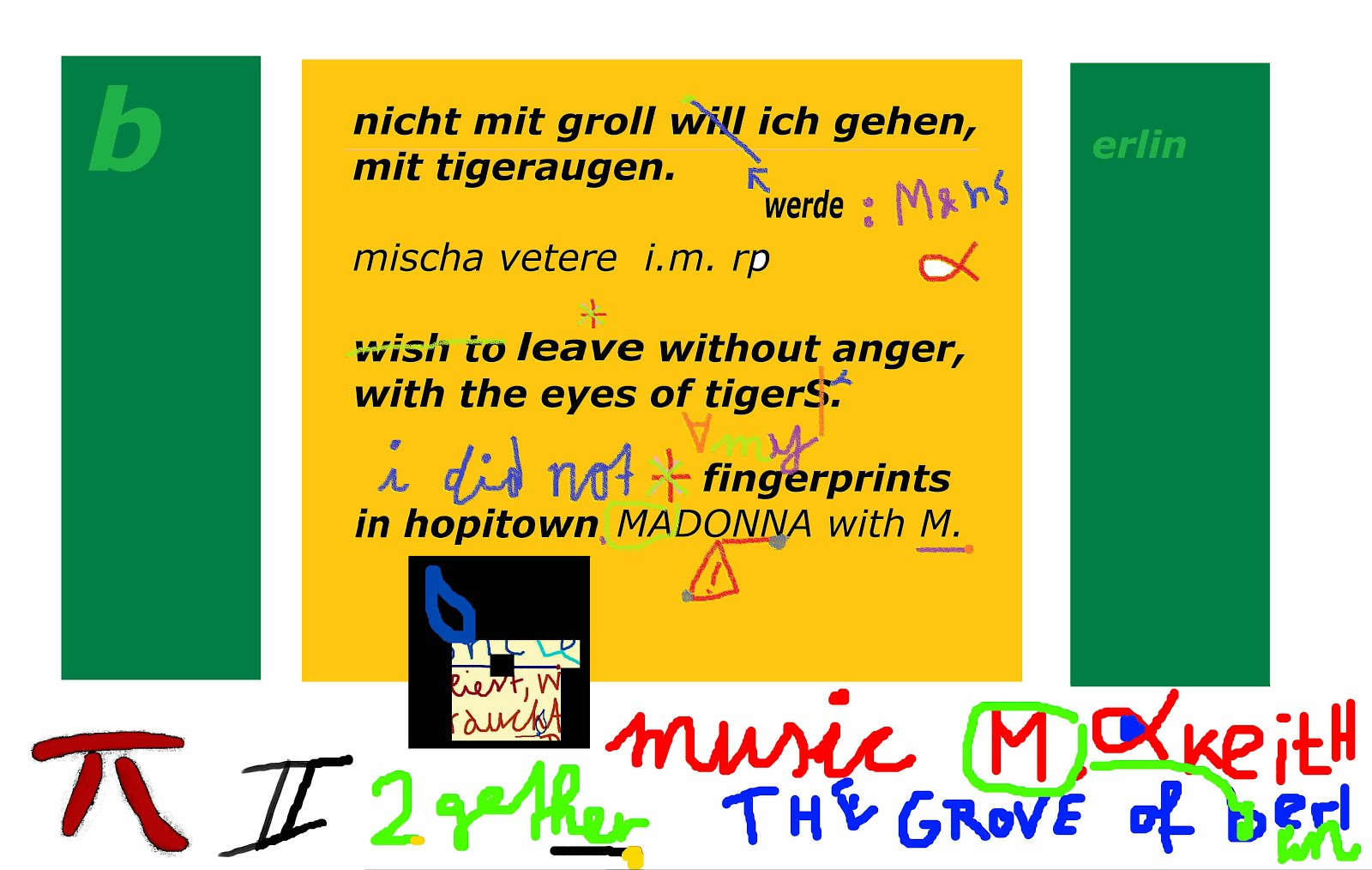 madonna THE MENTAL REVOLUTION mischa vetere karl lagerfeld berlin germany fingerprints DIVAbusiness