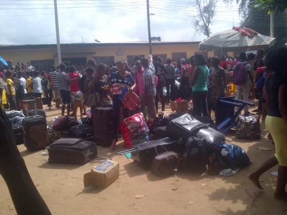 University Of Uyo Girls Hostel On Fire
