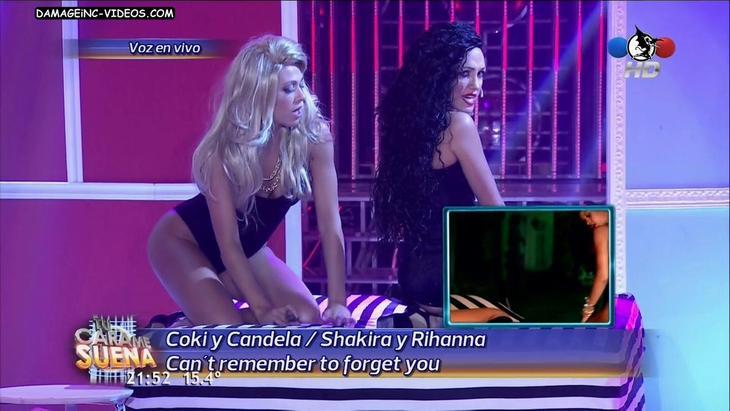 Coki Ramirez lesbian scene in tv show damageinc HD