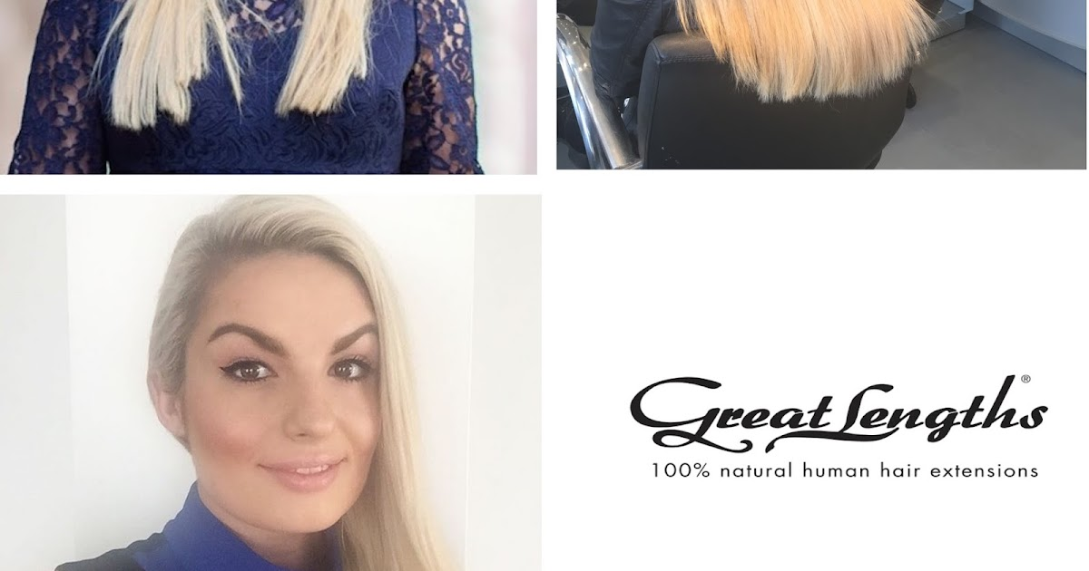 Review Great Lengths Hair Extensions What To Expect Style Me Curvy
