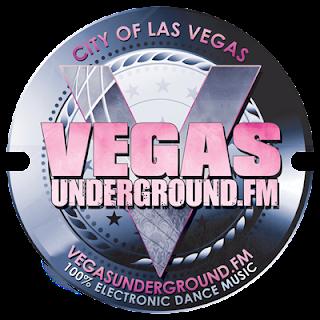 Vegas Underground FM Radio Logo Design
