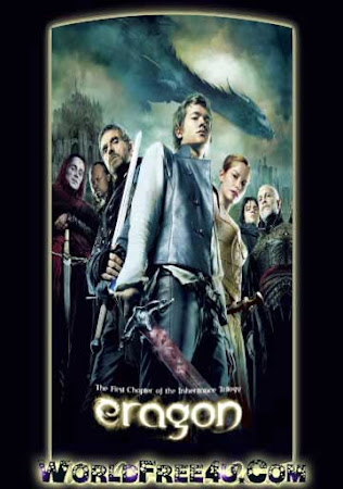 Poster Of Eragon In Dual Audio Hindi English 300MB Compressed Small Size Pc Movie Free Download Only At vistoriams.com.br