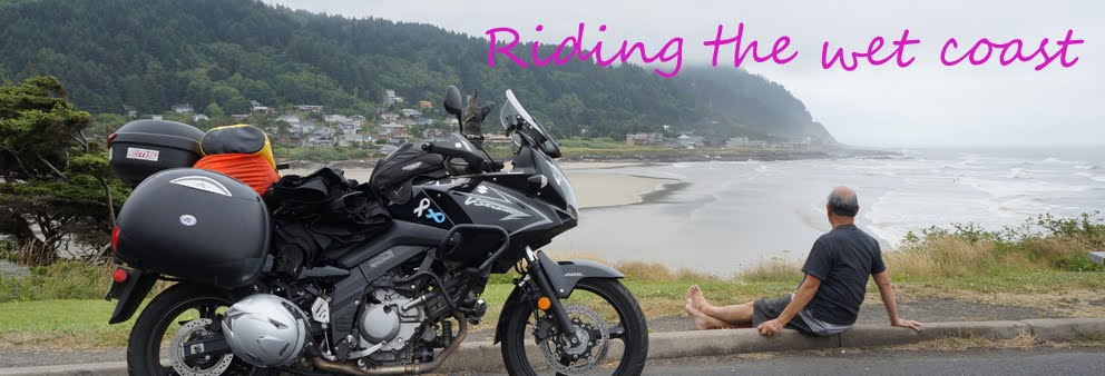 Riding the Wet Coast