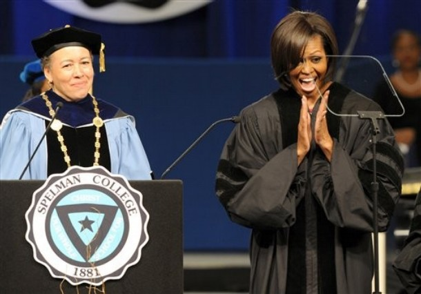 BOOKS & BELONGING: A HISTORY OF BLACK EDUCATION AND ... Michelle Obama Graduation