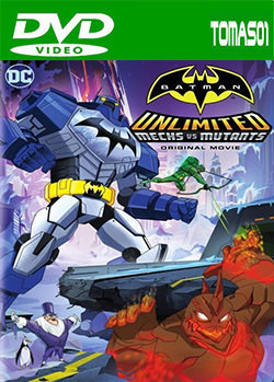 Batman Unlimited: Mech vs. Mutants (2016) DVDRip