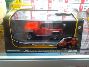 Greenlight Jeep wrangler rubicon (1:43)