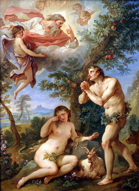 expulsion from paradise,angels,adam and eve
