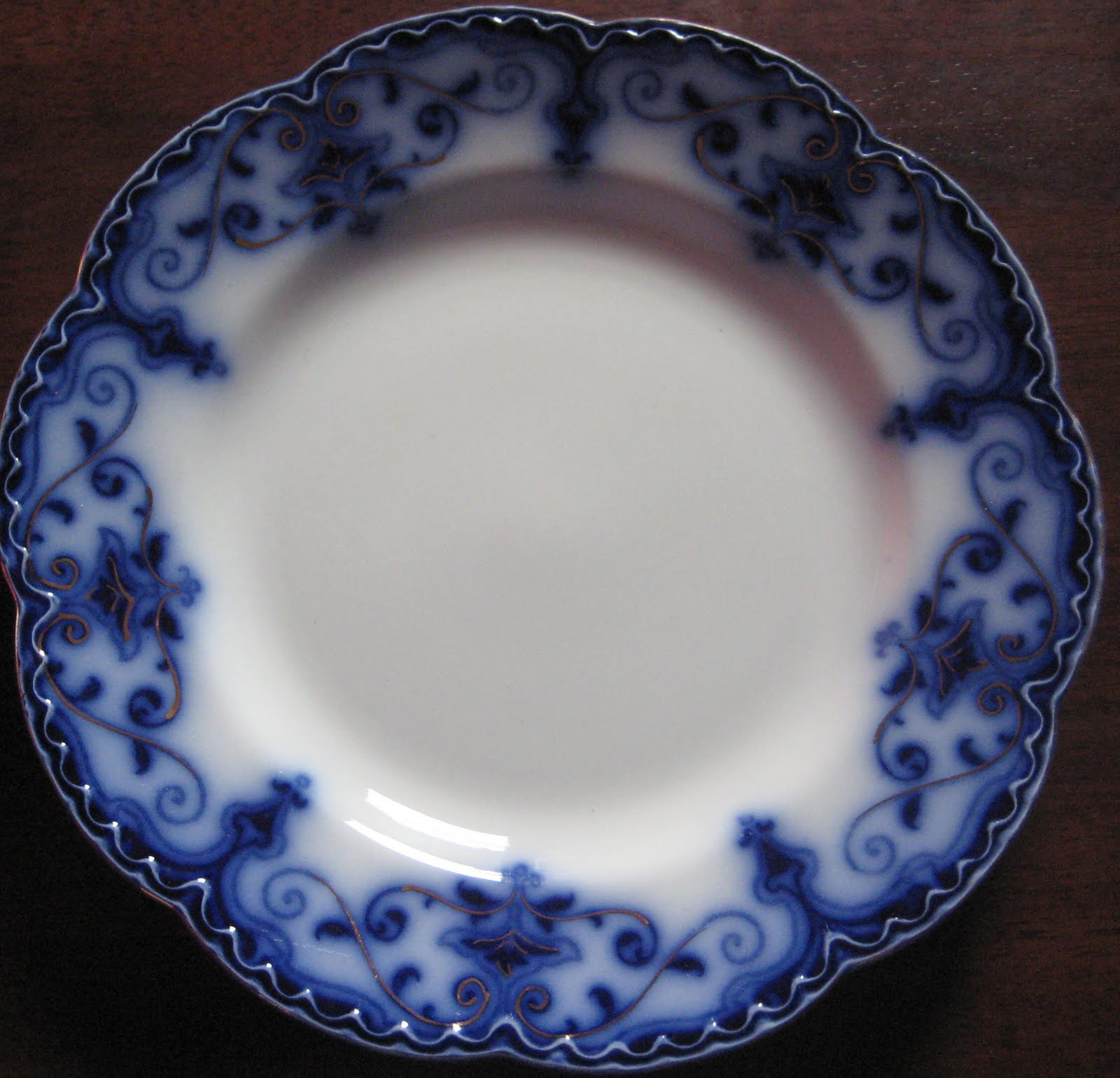 Freddy s girls china collection johnson bros flow blue