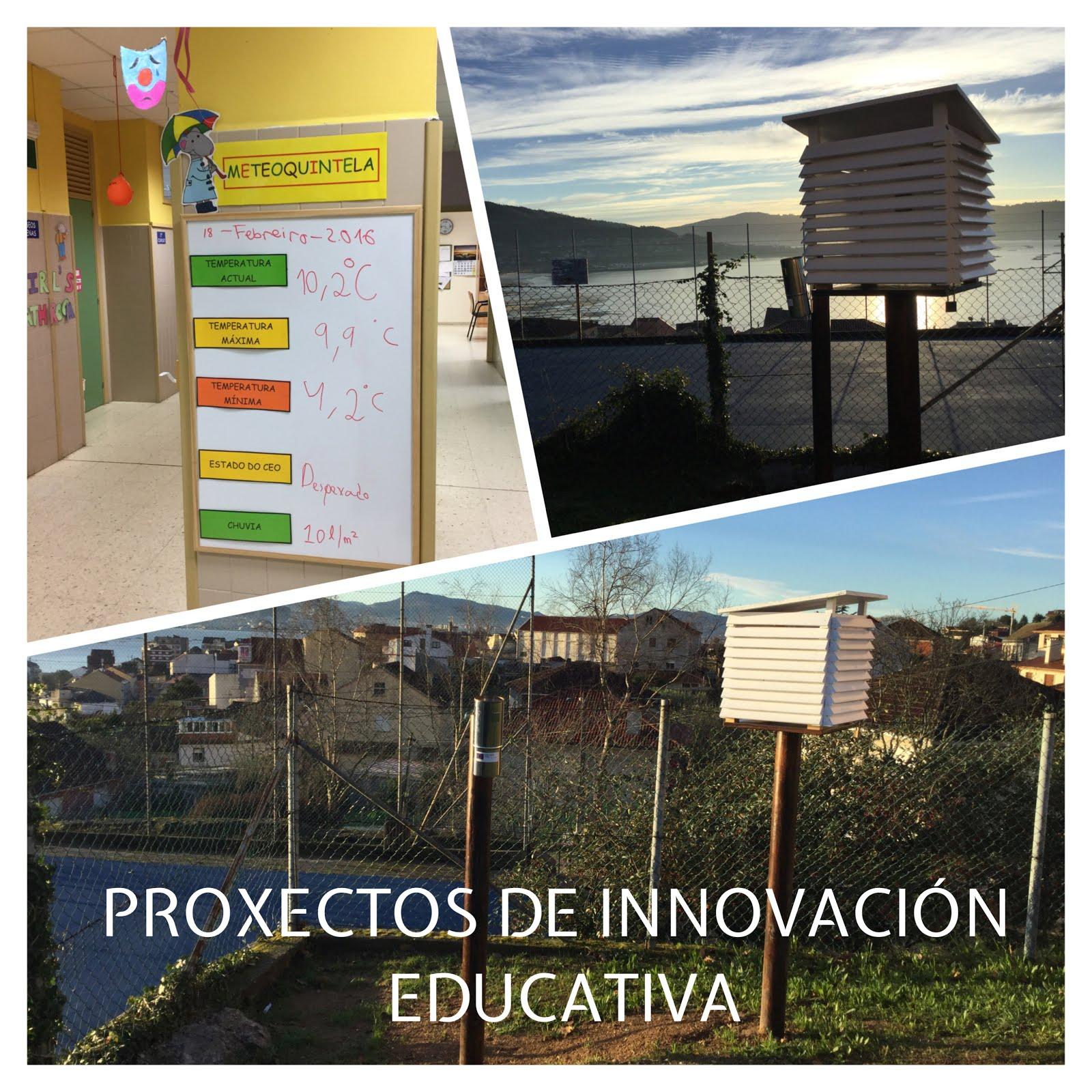 PROXECTOS DE INNOVACIÓN EDUCATIVA