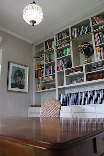 Library Shelving Custom Made Office Renovation Queenslander