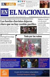 15/02/2020  PRIMERA PAGINA DE EL NACIONAL