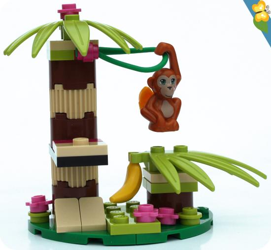 LEGO® Friends Animaux - Série 5 - L'orang-outan et son bananier
