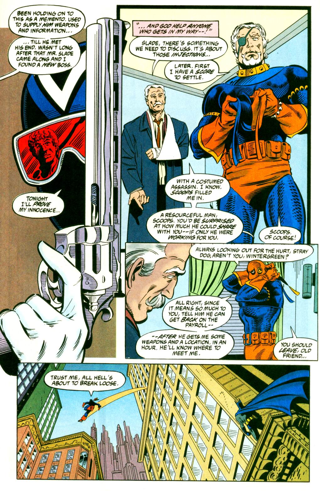 Deathstroke (1991) Issue #9 #14 - English 15