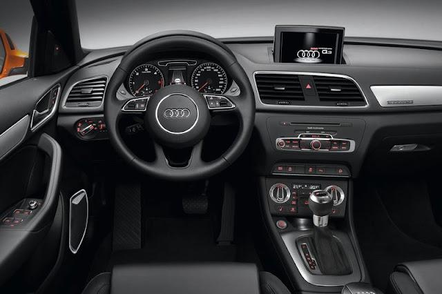 2012 Audi Q3 SUV Front Interior