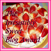 Irresistibly Sweet Blog Award