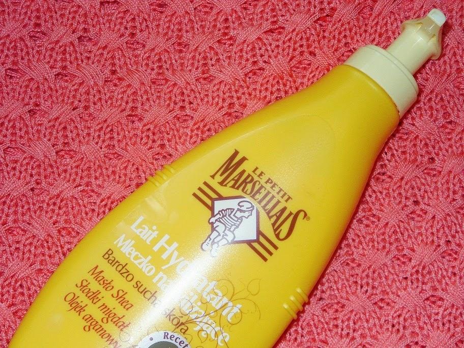 Recenzja: Mleczko nawilżające z masłem shea, olejem migdałowym i arganowm, Le Petit Marseillais