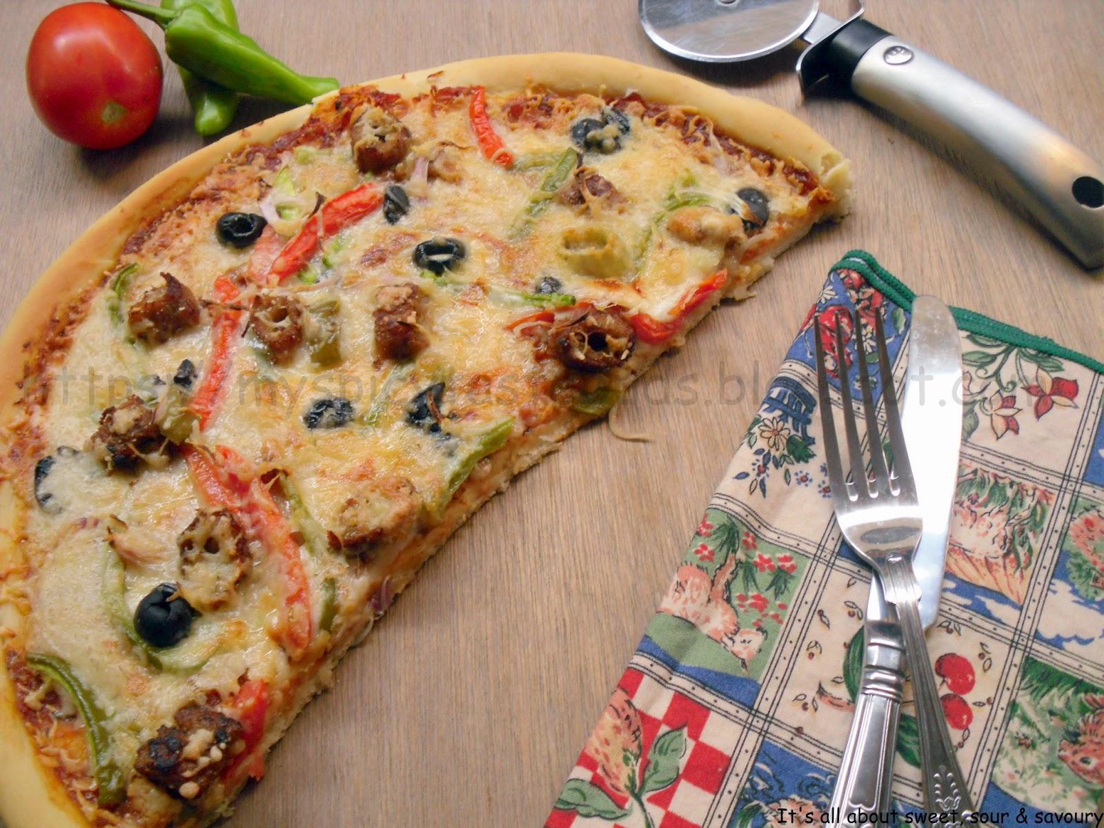 Seekh Kabab Pizza