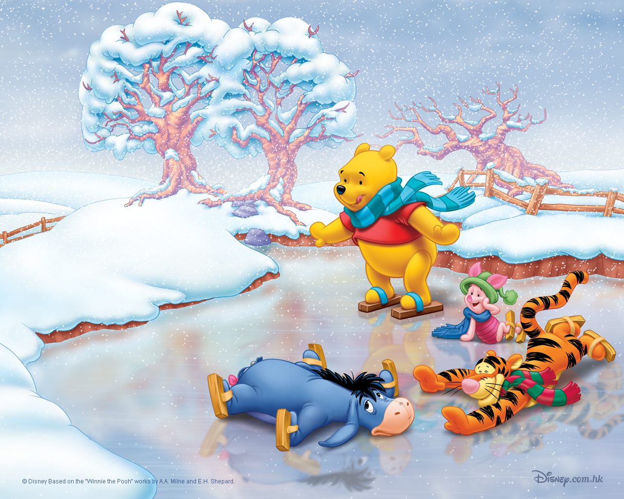 Free Tops Wallpapers Disney Christmas Wallpapers