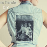 Fabric Transfer DIY