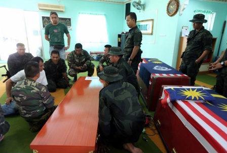 Jenazah Anggota Polis Terkorban Dihantar Balik