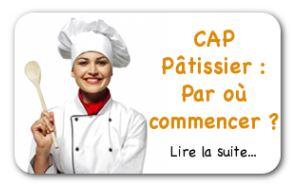 CAP Pâtisserie en Candidat libre