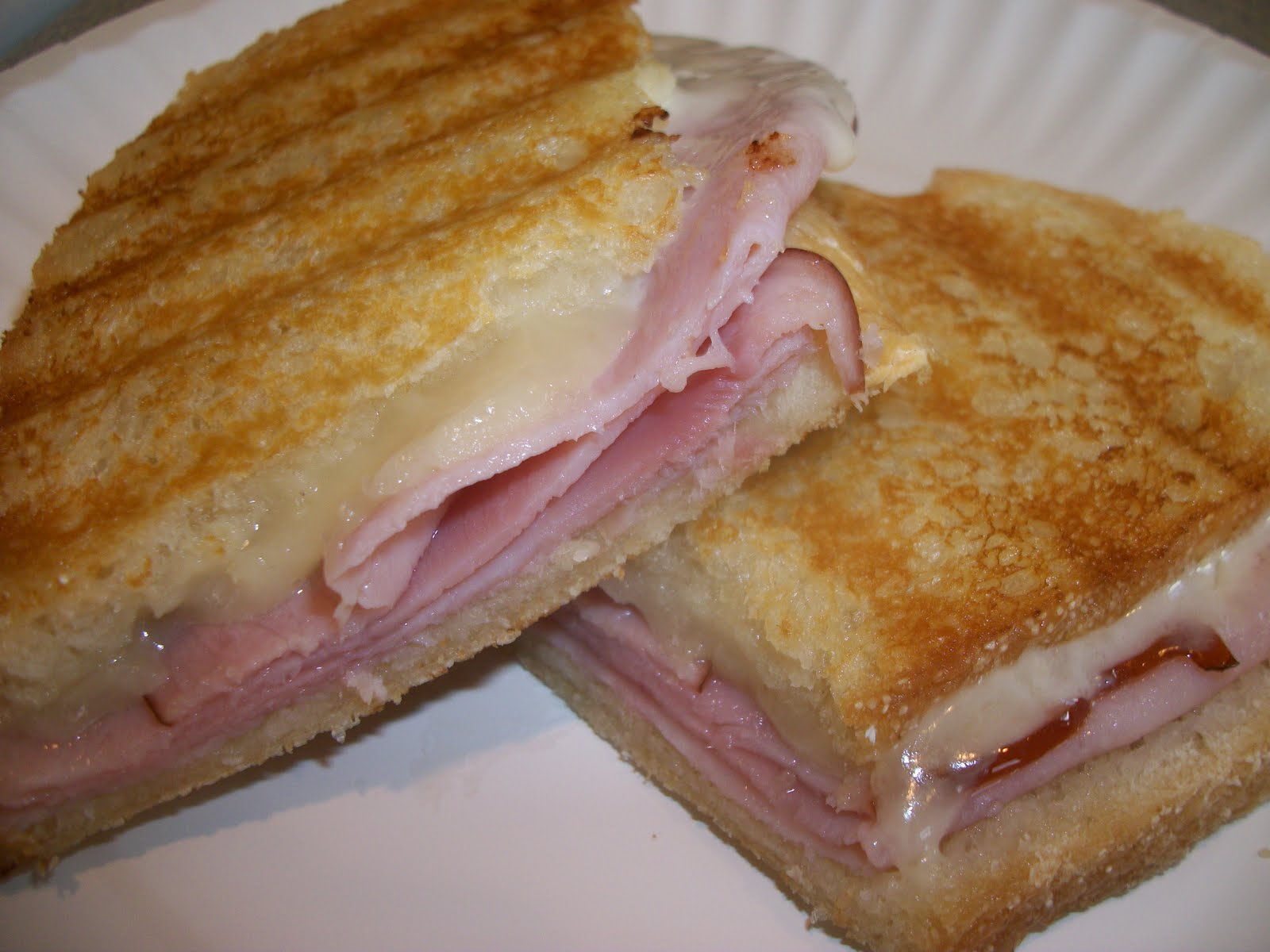 Hospitality at Heart: Ham & Cheese Panini