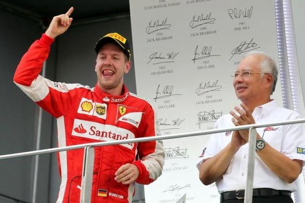 F1 Malaysia PM Umum Kontrak Penganjuran Disambung Tiga Tahun