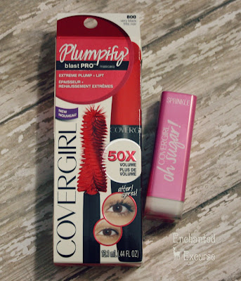 www.enchantedexcurse.com CoverGirl VoxBox Mascara and Lipstick Review