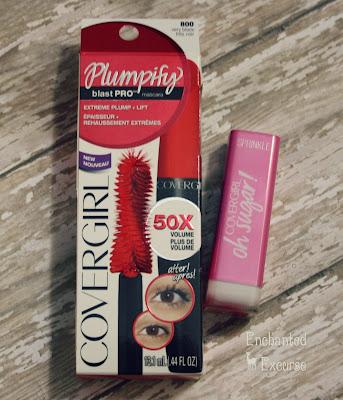 www.enchantedexcurse.com CoverGirl VoxBox Mascara and Lipstick Review