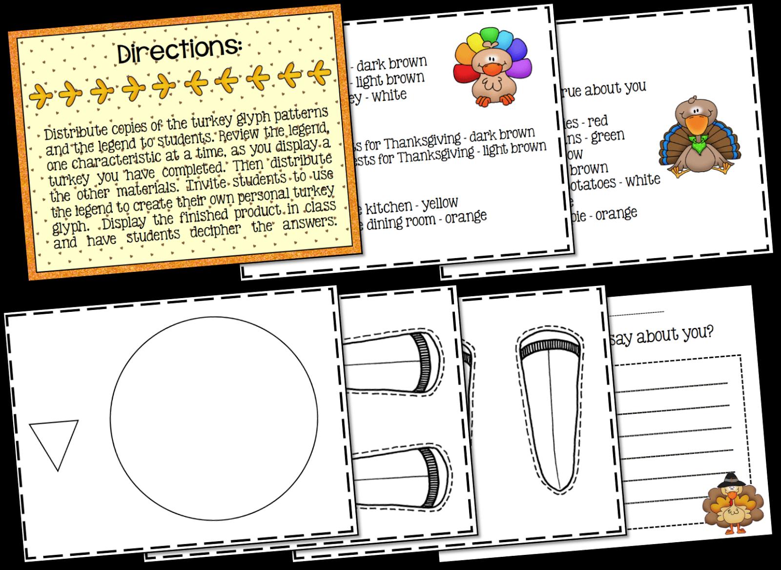 Thanksgiving Worksheets For 3rd Grade : Ms third grade thanksgiving activities