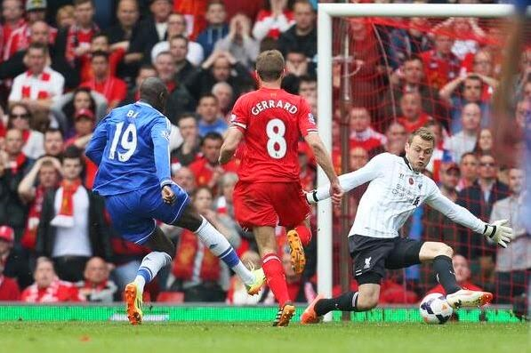 Liverpool vs Chelsea 0-2 Premier League