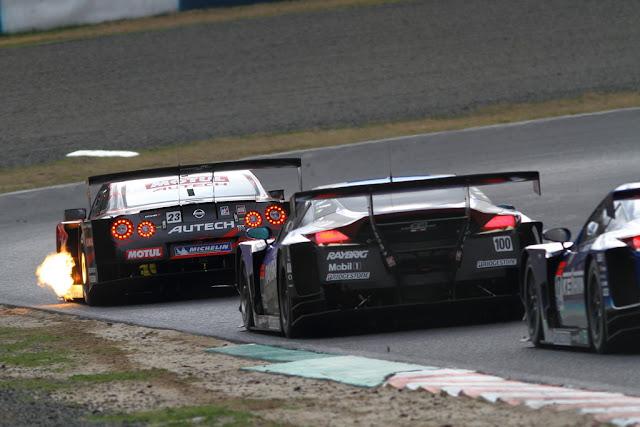 Nissan GT-R & Honda HSV-010GT, Super GT, japońska liga wyścigowa, nismo, mugen, wyścigi, sport