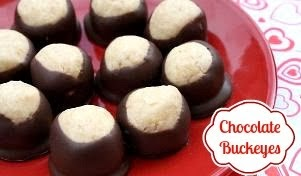 Chocolate Buckeyes &amp; <br> Crock Pot Candy