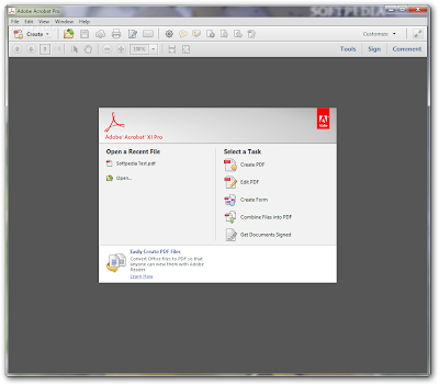 Screenshot Software Adobe