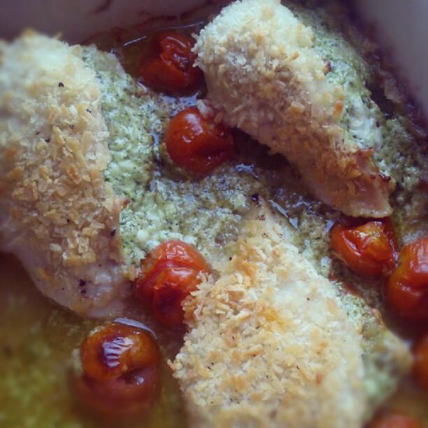 Jen's Place: Creamy Pesto Chicken